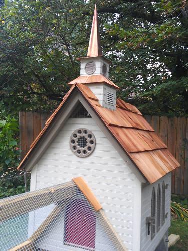 Le poulailler église