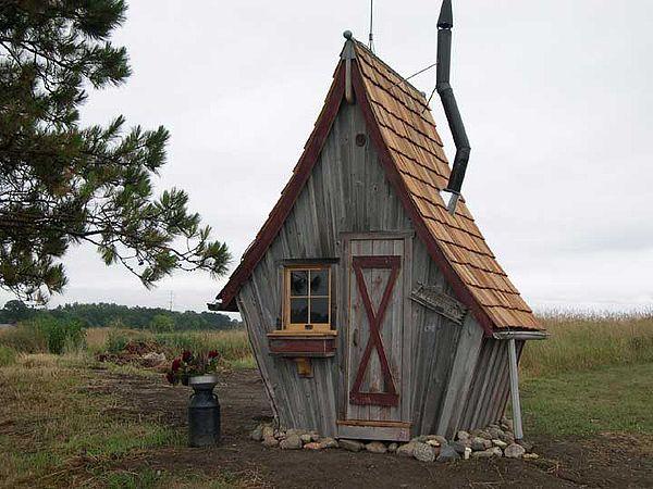 Le poulailler hutte