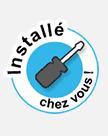 Logo installation à domicile