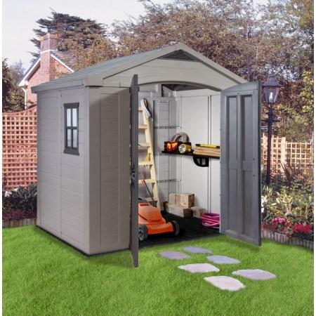 Et si vous optez pour un abri de jardin  en PVC ?