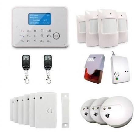 Un système d'alarme GSM présente bon nombre d'avantages