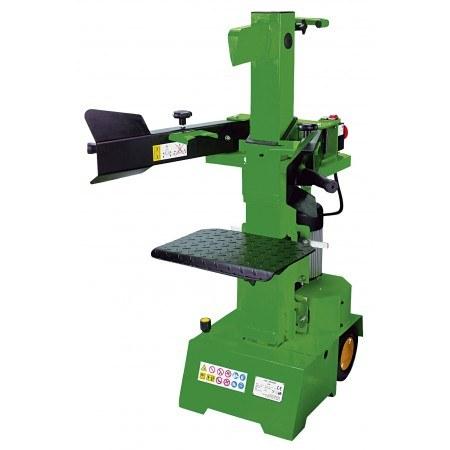 Une fendeuse de bûches électrique horizontale est recommandé pour la fendage de bois de plus de 50 cm