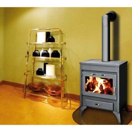 Un poêle à bois peut être installé dan un appartement également