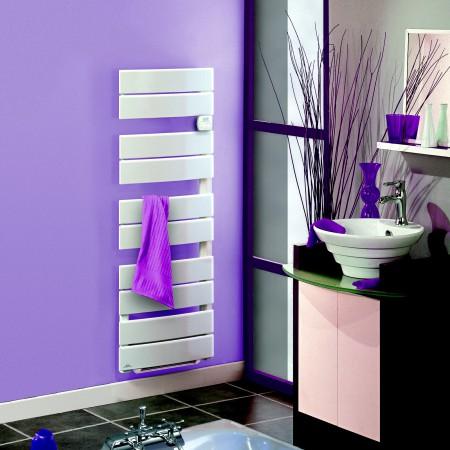 Un sèche-serviette électrique présente plus d'avantages qu'un sèche-serviette à eau