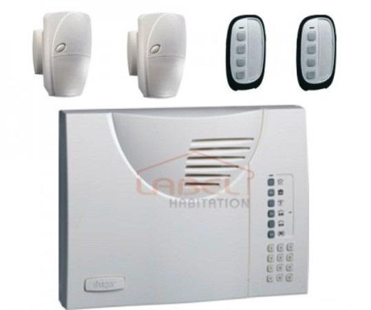 Une alarme double fréquence utilise à la fois la fréquence 433Mhz et 868Mhz