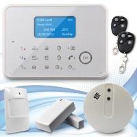 Alarme de maison sans fil et filaire